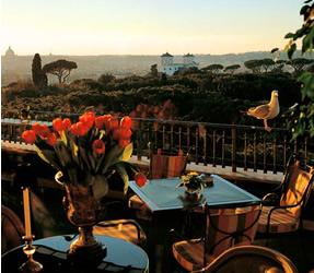 Restaurant La Mirabelle Hotel Splendide Royal Rome Italy Bown S