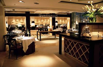 Restaurant Santceloni Madrid Spain