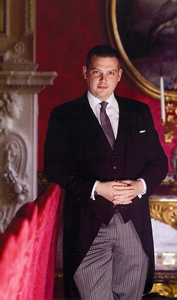 Matthew Rivett, Operations Manager, The Willian Kent House at The Ritz, London, UK
